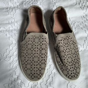 Joie • Perforated Suede Sneakers